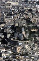 panorama urbano - vista dalla collina di  monserrato MODICA Luigi Nifosì