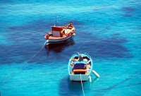barche alla fonda  - Levanzo (3741 clic)