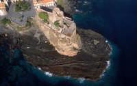 veduta aerea del castello  - Aci castello (5040 clic)