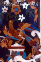 l'Annunziata - particolare dell'altare in marmi mischi  - Palazzolo acreide (3183 clic)