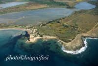 veduta aerea della riserva  - Vendicari (7949 clic)