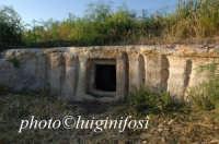 tomba a finti pilastri in contrada Baravitalla  - Ispica (4530 clic)
