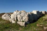 il castello del principe o anaktoron  - Pantalica (2931 clic)