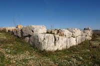 il castello del principe o anaktoron  - Pantalica (2513 clic)
