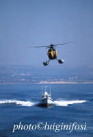 mezzi aeronavali della guardia di finanza durante una esercitazione  - Pozzallo (3332 clic)