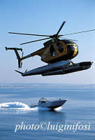 mezzi aeronavali della guardia di finanza durante una esercitazione  - Pozzallo (6224 clic)