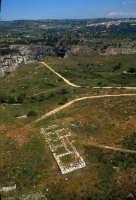 veduta aerea del castello del principe o anaktoron veduta aerea del castello del principe o anaktoron  - Pantalica (6509 clic)