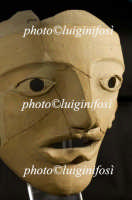 maschera teatrale in terracotta da megara hyblea  - Siracusa (6150 clic)