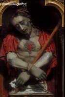 busto in cartapesta raffigurante cristo presso la chiesa di san pietro  - Modica (2156 clic)