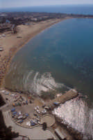 vista aerea del molo e della spiaggia di marina di modica   - Marina di modica (7066 clic)