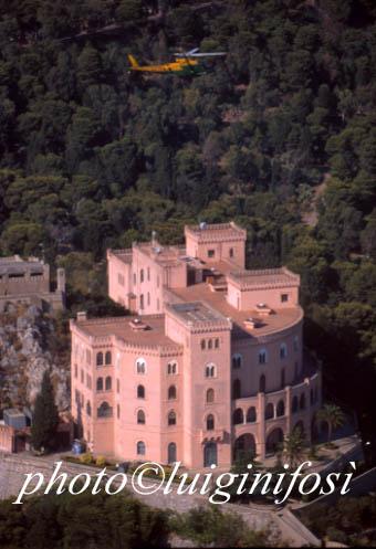 il castello utvegio sul monte pellegrino - PALERMO - inserita il