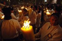 devoti di sant'agata coi ceri votivi  - Catania (2484 clic)