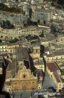 veduta aerea del castello e di san pietro  - Modica (2755 clic)