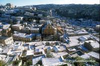 panorama di modica alta dopo una nevicata  - Modica (2723 clic)