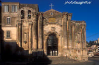 il prospetto della chiesa di s.m. delle grazie  - Modica (2148 clic)