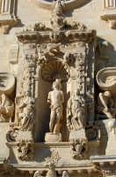 chiesa di san sebastiano, particolare del prospetto  - Ferla (1551 clic)