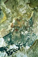 residuo di affresco raffigurante san guglielmo, presso la chiesa del santo spirito, sul colle di san matteo  - Scicli (3123 clic)
