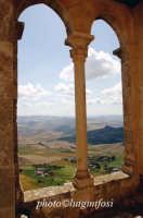 panorama dal castello di mussomeli  - Mussomeli (2999 clic)