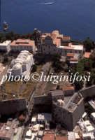 veduta aerea del castello   - Lipari (3522 clic)