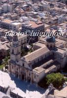 veduta aerea della cattedrale di san giovanni  - Ragusa (4150 clic)