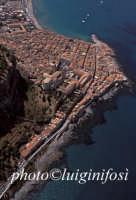 la città e la costa  - Cefalù (5635 clic)
