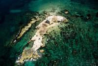 una veduta aerea dell'isola dei porri  - Ispica (4977 clic)