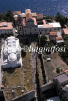 veduta aerea del castello  - Lipari (3368 clic)