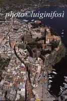 l'impianto urbanistico della città e del castello  - Lipari (6448 clic)