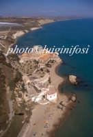 veduta aerea del castello di falconara  - Falconara (6231 clic)