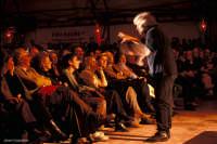 beppe grillo nello spettacolo 2004 presso il teatro tenda di ragusa  Luigi Nifosì