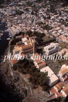 veduta aerea del castello  - Lipari (3054 clic)
