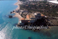 veduta aerea del castello di falconara  - Falconara (6988 clic)