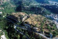 veduta aerea del castello  - Lentini (5112 clic)