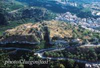 veduta aerea del castello  - Lentini (5016 clic)