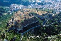 veduta aerea del castello  - Lentini (5221 clic)