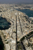 veduta aerea del centro storico  - Trapani (3232 clic)