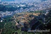veduta aerea del castello  - Lentini (4810 clic)