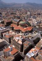 veduta aerea del teatro massimo  - Palermo (3179 clic)