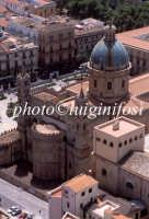 veduta aerea dell'abside della cattedrale PALERMO Luigi Nifosì