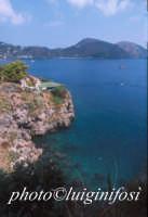 panorama marino dal castello  - Lipari (2188 clic)