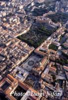 Veduta aerea del centro storico di Palermo  - Palermo (10590 clic)