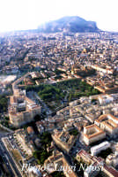 veduta aerea del centro storico di Palermo  - Palermo (12248 clic)