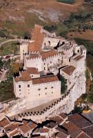 il castello di caccamo visto dall'alto  - Caccamo (2807 clic)