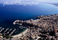 la citta' e il golfo visti dall'alto  - Castellammare del golfo (2587 clic)