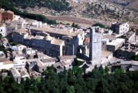 veduta aerea della cattedrale e della torre   - Erice (4859 clic)