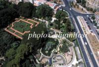 veduta aerea del giardino di palazzo d'orleans  - Palermo (10946 clic)