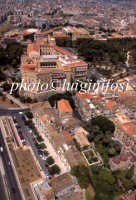 veduta aerea di san giovanni agli eremiti e palazzo dei normanni  - Palermo (3986 clic)