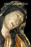 la statua bizantina in legno dell'addolorata venerata presso il Santuario di S. Maria la Nova  - Scicli (4066 clic)