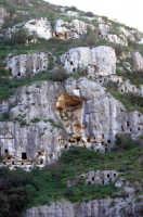 la necropoli nord  - Pantalica (5483 clic)