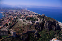 il castello di milazzo visto dall'alto  - Milazzo (8623 clic)